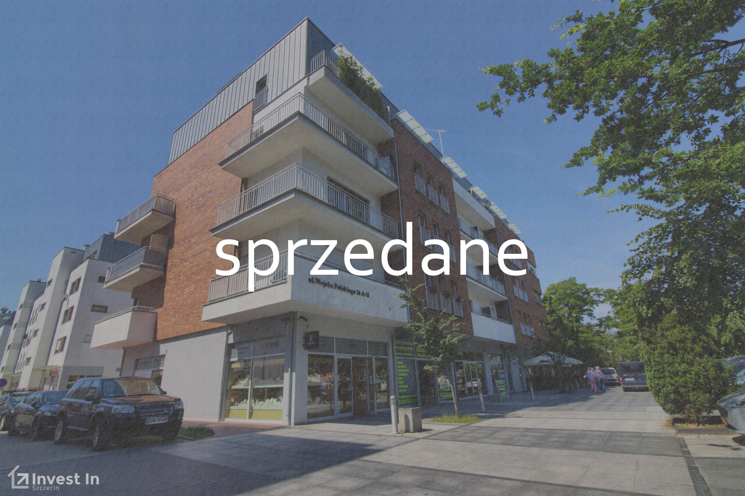 Apartament z sypialnią i balkonem w Świnoujściu – Wojska Polskiego 16A